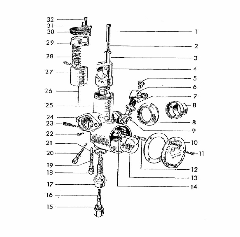 arctic cat carburetor diagram